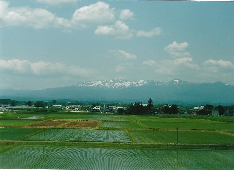 白神山地の山々