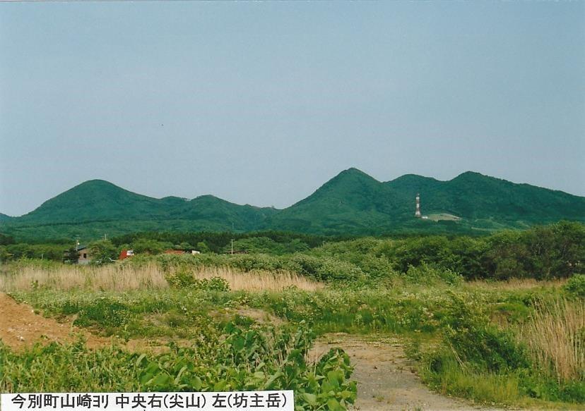 尖山と坊主岳
