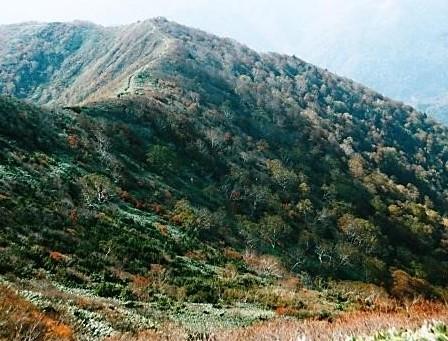 山頂~松手山