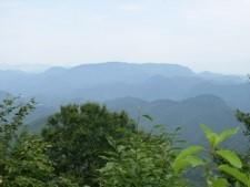 山頂~博士山