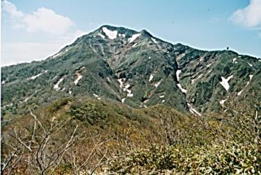 那須連峰のブナの原生林が茂る~甲子山~(福島)