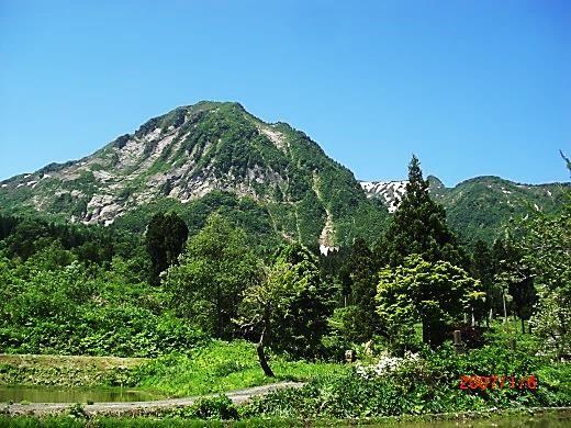 権現岳(1104m)