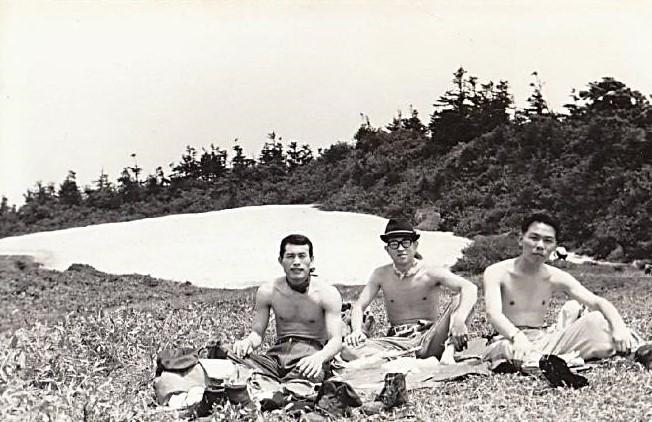 山崎さん・小田さんと裸で記念撮影