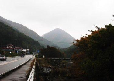 「ほら貝」を思わせる山容~貝鳴山~(福島)