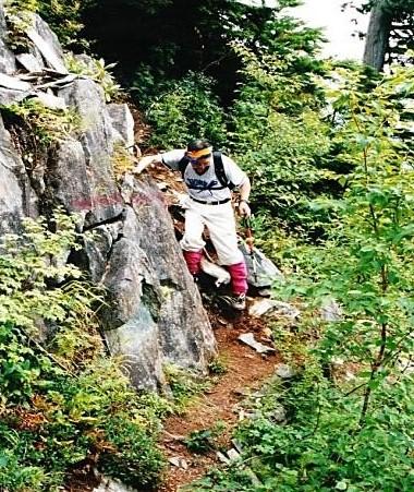OMITSU登る