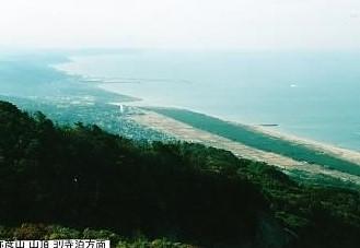 弥彦山頂~日本海