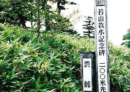 標高2152m 渋峠