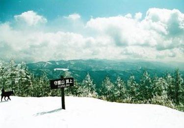 諏訪湖にのぞむ山~守屋山~(長野)