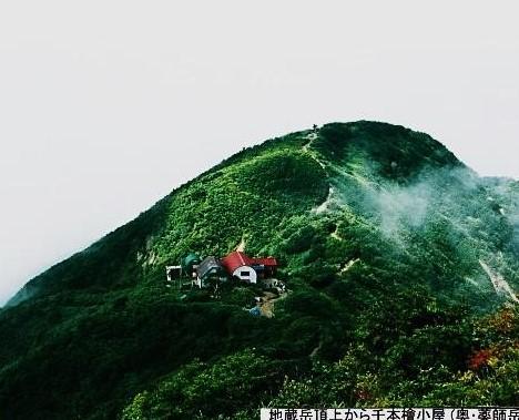 地蔵岳~千本檜小屋