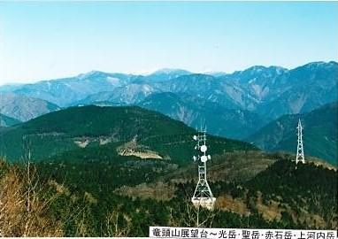 竜頭山 展望台