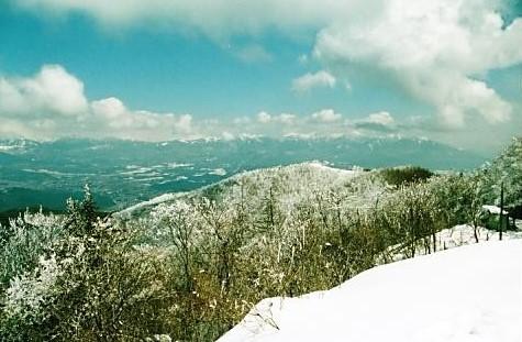 霧ケ峰~八ヶ岳連峰