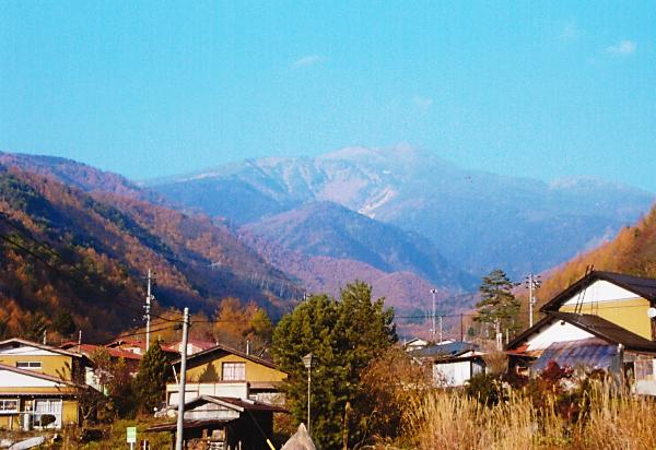 阿多野郷から乗鞍岳