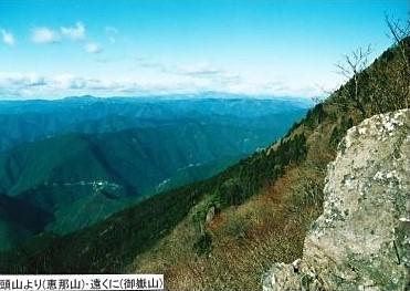 竜頭山からの眺望