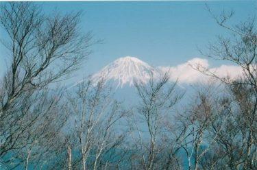 山と渓谷の南部町から富士山を望む~貫ヶ岳・白鳥山~(山梨)