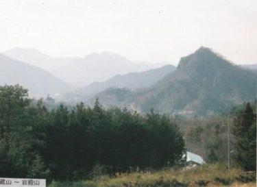 自然の要害をなした岩壁から気が満ちる~岩殿山~(山梨)
