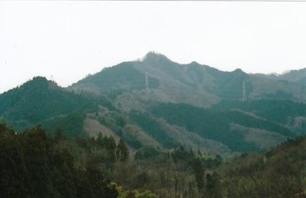 嵯峨山望む
