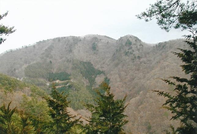 栂の峠~三方分山