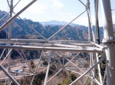 鉄塔から熊倉山