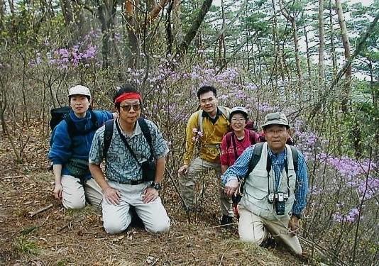 山頂にて記念撮影