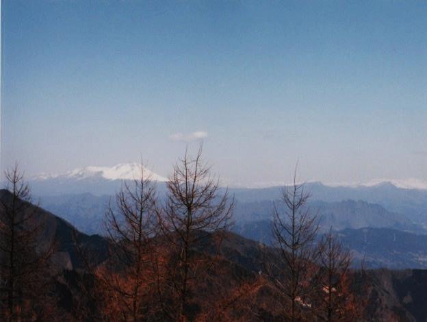 浅間山・横手