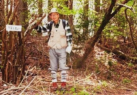 鹿路庭峠の田中さん