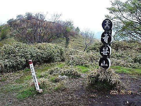 青笹山・山頂