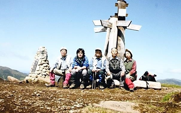 鉢伏山・山頂にて