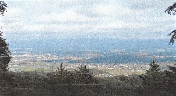 飯道山から鈴鹿方面