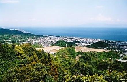 伊豆半島の山々