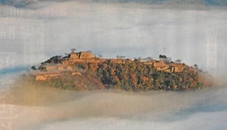 天空の城 (虎臥城)立雲峡より イメージ
