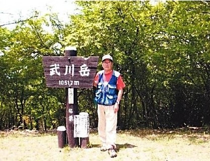 武川岳・山頂にて