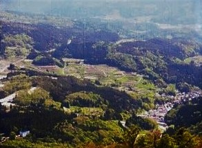 鉢伏山~とちの木村