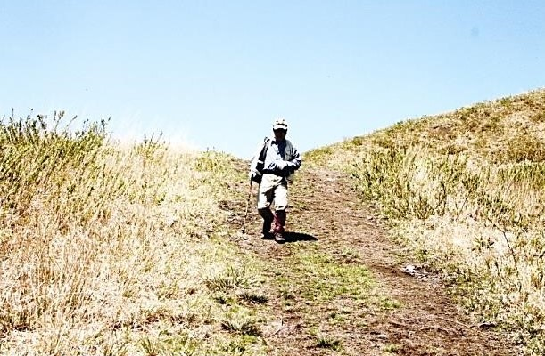 鉢伏山の帰り道