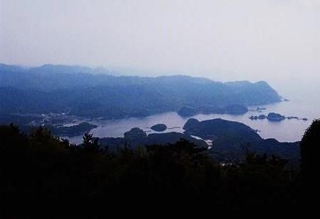 高山~須佐湾を望む