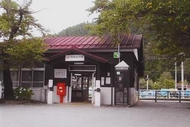 高山本線飛騨国府駅舎
