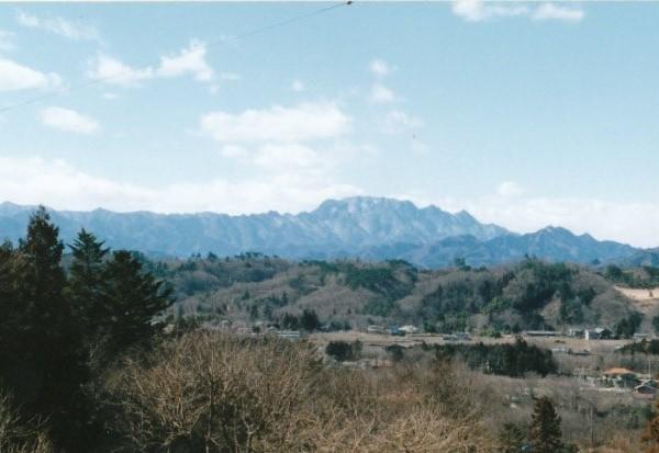 小鹿野町から両神山